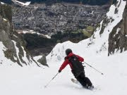 Freeriden in Chamonix, Alexander Rochau