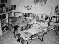 Portrait of Romain Gary le 12 janvier 1978 AUFNAHMEDATUM GESCHÄTZT PUBLICATIONxINxGERxSUIxAUTxHUN