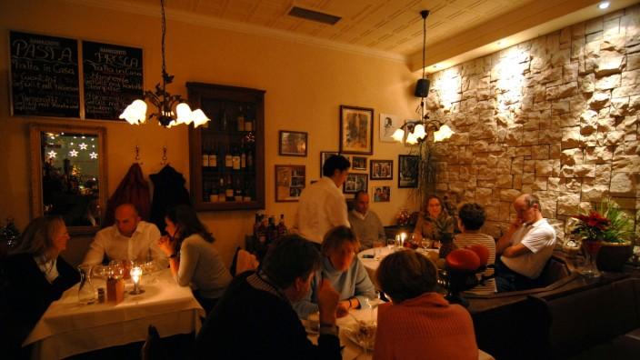 Italienisches Restaurant in München, 2007