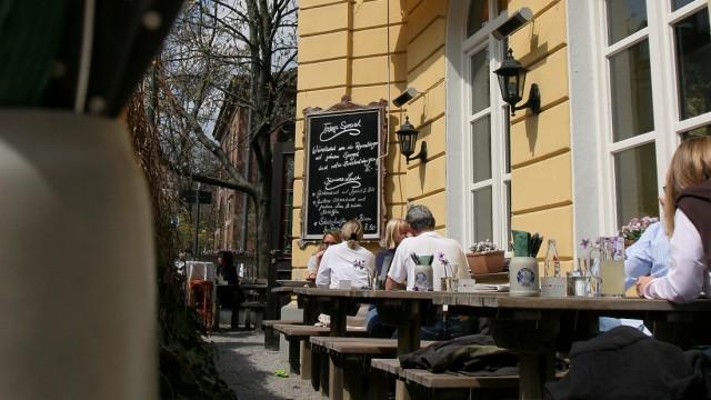 Restaurant Kaisergarten in München, 2006