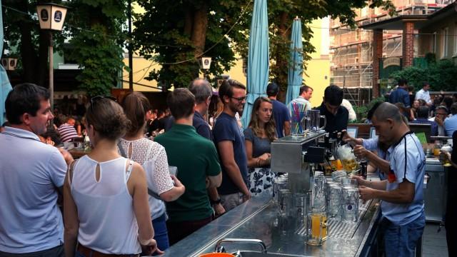 """Restaurants Biergarten Maxvorstadt """"Max-Emanuel-Brauerei"""""""