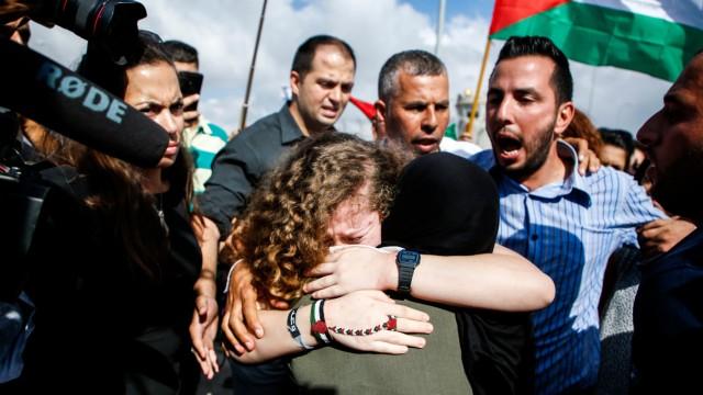 Politik Israel Ahed Tamimi