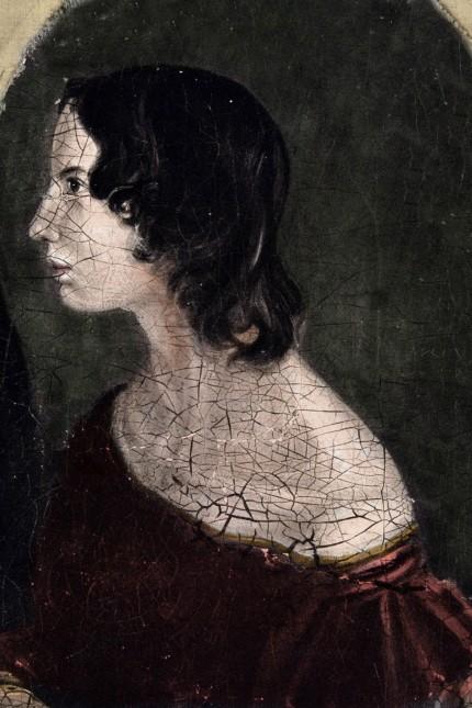 Portrait de Emily Jane Bronte poete et ecrivain britannique 1818 1848 National Portrait Gallery