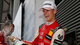 Mick Schumacher nach seinem Sieg beim Formel-3-Rennen 2018 in Spa