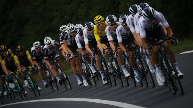 Team Sky bei der Tour de France
