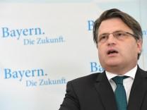 Bayerns Justizminister Winfried Bausback