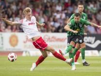 Fußball 3 Liga Saison 2018 2019 1 Spieltag Fortuna Köln Preußen Münster am 28 07 2018 in Kö