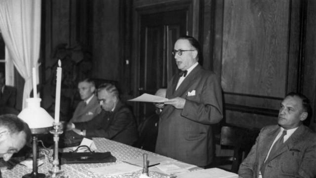 Verfassungsversammlung auf Herrenchiemsee