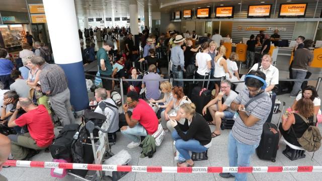 Verkehr in München Münchner Flughafen