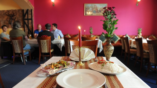 Indisches Restaurant in München, 2011