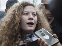 Ahed Tamimi aus Gefängnis entlassen