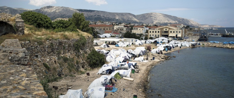 Greece Migrants Daily Life