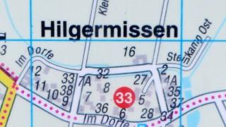 Karte von  Hilgermissen