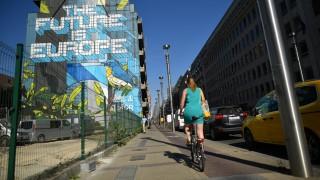 Fahrrad Radfahren in Brüssel
