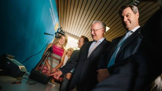 27 07 2018 Festakt zur Eröffnung des Landesamt für Asyl und Rückführung in Manching Markus Söder