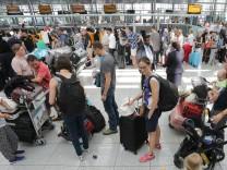 Münchner Flughafen Sicherheitspanne Chaostag Lufthansa
