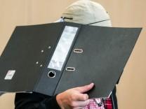 Wehrhahn-Prozess: Der Angeklagte Ralf S. im Gerichtssaal