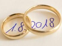 Hochzeit am 01.08.2018