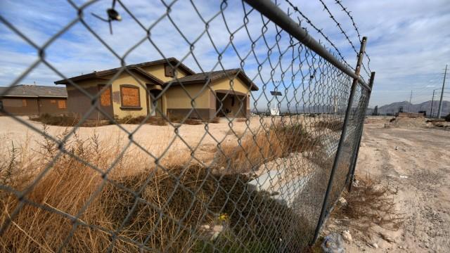 Immobilienkrise in den USA: Haus in Las Vegas