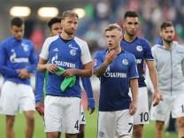 Benedikt Höwedes und Max Meyer beim FC Schalke 04