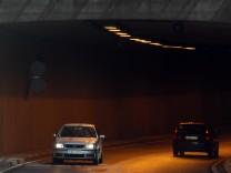 Der Josef-Deimer-Tunnel in Landshut