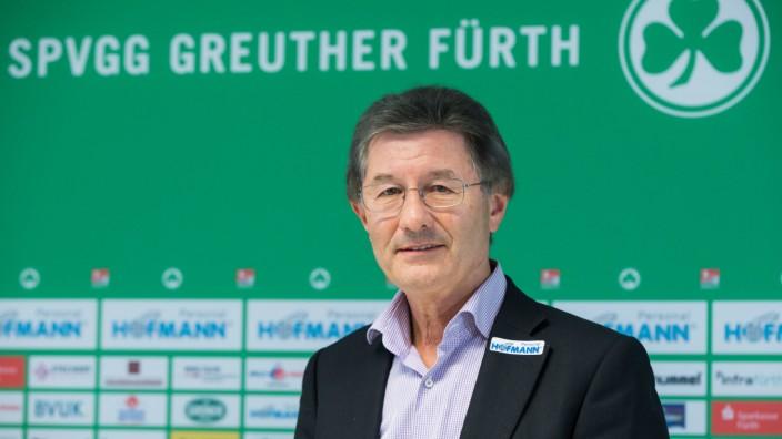 Helmut Hack Präsident von Greuther Fürth - Helmut Hack