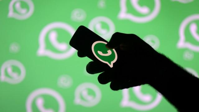 Whatsapp auf einem Smartphone
