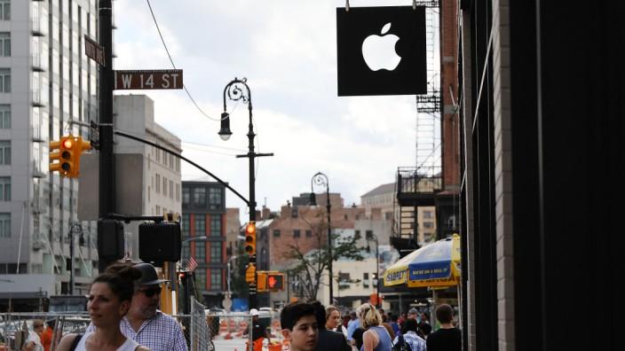 Apple-Filiale in Manhatten, New York