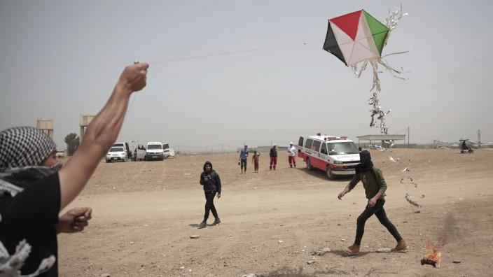 Israel Palästina Flugdrachen