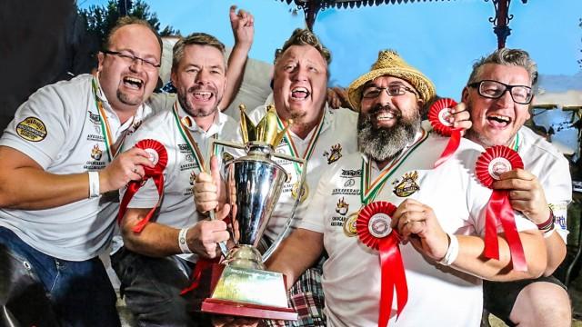Grillen Team Deutscher Meister Siegerfoto