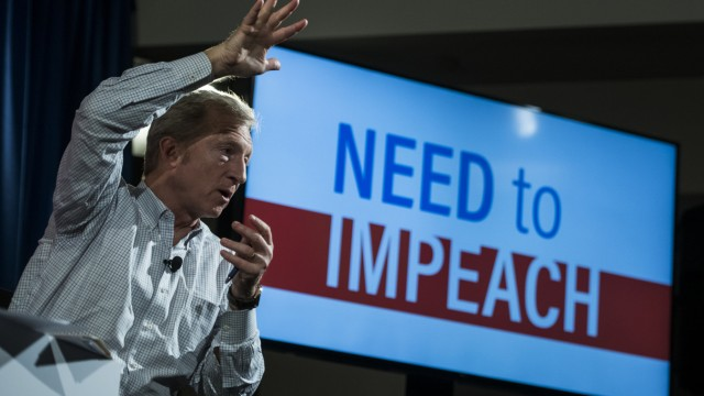 Tom Styer Trump Impeachment