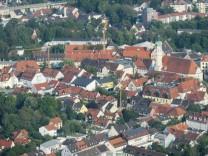 Luftbeobachtung Waldbrandgefahr, Landkreise Starnberg, FFB, DAH