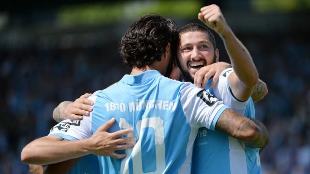04 08 2018 xemx Fussball 3 Liga TSV 1860 Muenchen Sportfreunde Lotte emspor v l Sascha Moeld