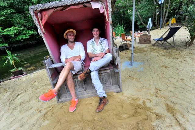 Mühltal Forsthaus neue Pächter: Boris Scharf und Stefan Walter