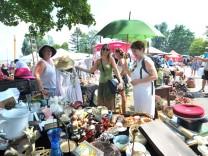 Dießen: Flohmarkt