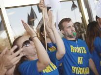 Ryanair-Mitarbeiter streiken in Spanien