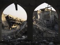 Irak: Zerstörte Gebäude in Mossul