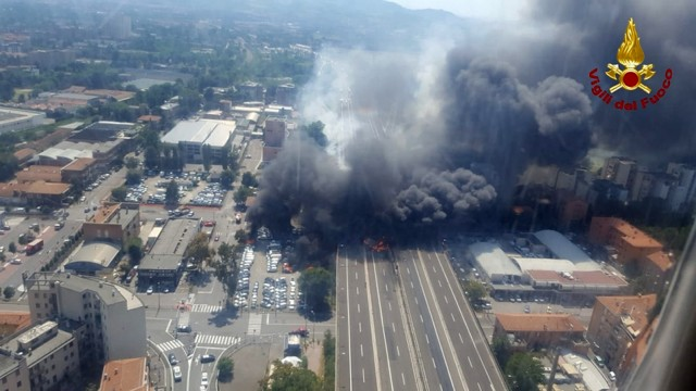 Explosion in Bologna