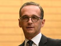 Bundesaußenminister Heiko Maas (SPD)