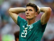Mario Gomez beim WM-Vorrundenspiel 2018 gegen Südkorea