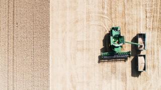 Getreideernte in Niedersachsen