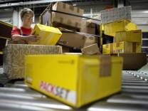 Paketversand bei der Deutschen Post
