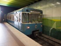 """U-Bahnhof """"Klinikum Großhadern"""" in München, 2018"""