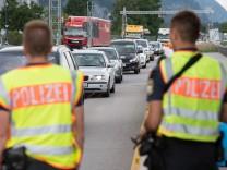 Flüchtlinge: Grenzkontrollen in Deutschland