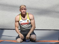Zehnkämpfer Arthur Abele bei der Leichtathletik-EM 2018 in Berlin