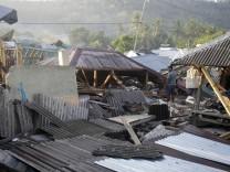 Indonesien: Erdbeben auf Lombok