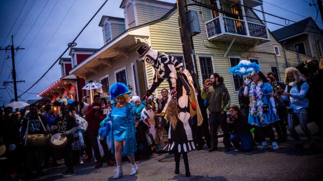 Carnival season begins in New Orleans