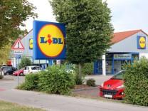 Lidl-Markt wird neu gebaut; Lidl-Markt in Gilching
