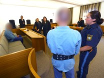 Prozess wegen Mordes an Rentner