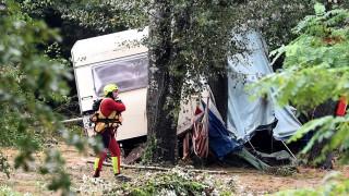 Unglück und Unfall Südfrankreich